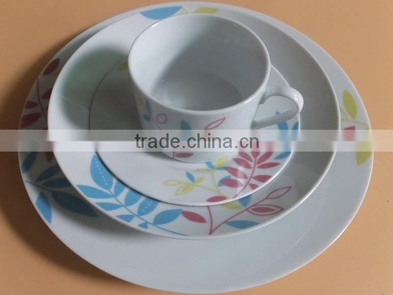 20pcs Dinner Set Porcelain Crockery Dining Service China Dinnerware Plates Bowls
