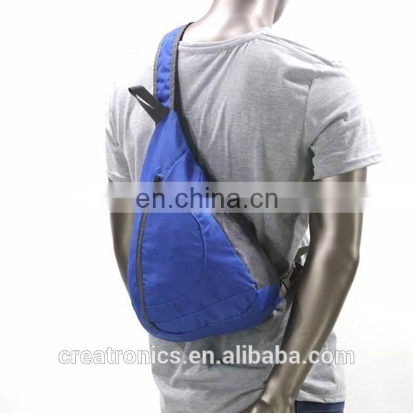 Unisex Shoulder Chest Crossbody Sling Bag Pack Backpack Mini Small Travel Sling Bags Cross Shoulder Bag