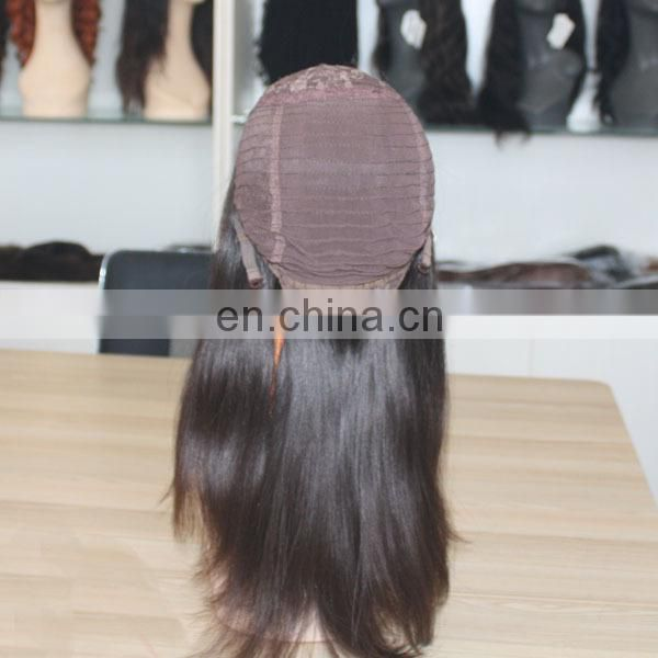 Faceworld human hair wig factory in Qingdao high quaity wholesale european kosher wig