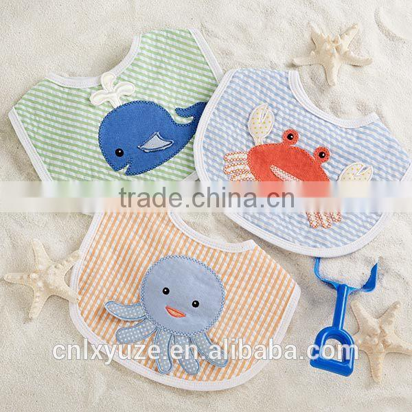 """Beach Buddies"" 3-Piece Bib Gift Set baby boy bibs"