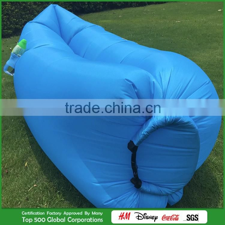 New Coming Inflatable Sleeping Bag/ Sofa/ Bed Air Bag, Colorful Outdoor travelling camping Inflatable Sleeping Bag