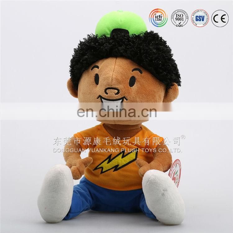 Custom made doll toy for promotion & doll key ring