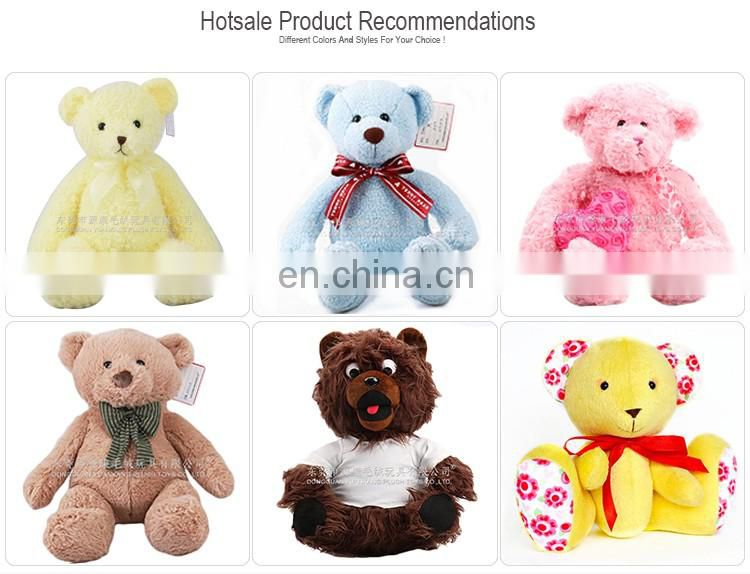 Cheap price stuffed animal custom teddy bear sound box plush toy