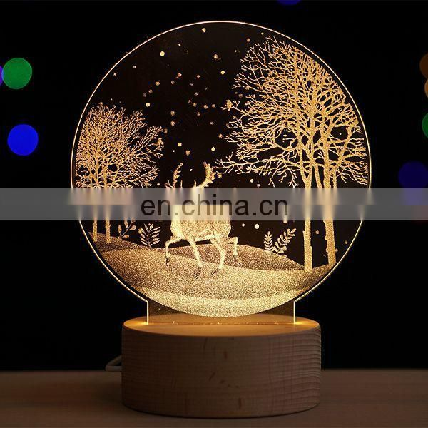 2017 Remote Control Switch Creative lamp,Christmas gift desk lamp,Night Lamp Desk Light