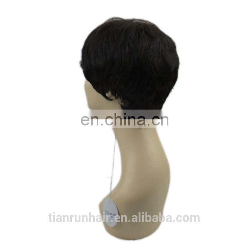 wholesale fashion factory price human hair short wigs cheap hot sale short bob wigs for black women