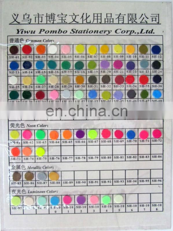Metallic color eco-friendly wholesale craft kits polymer clay