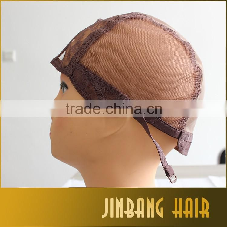 Alibaba wholesale new products full lace wig caps hot selling crochet braids brazilian human hair wig cap