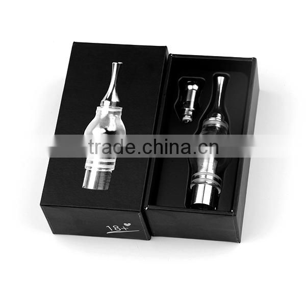 New arrival v8s glass wax atomizer glass vaporizer ecig atomizer V8 S atomizer/tank
