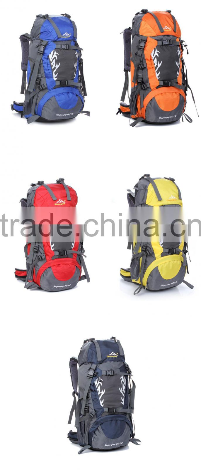 waterproof multi-functional custom climbing mountain camping hiking backpack