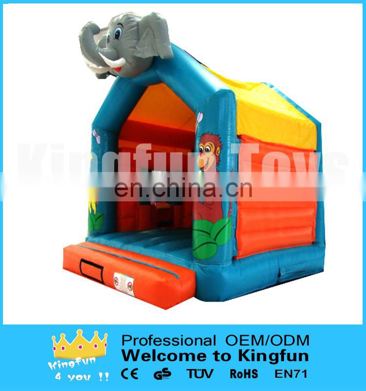 Small inflatable elephant combo