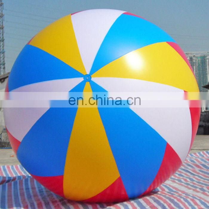 Large inflatable helium bubble football for sale