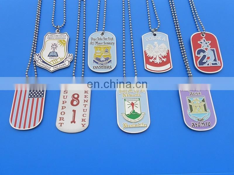 Ghana National College Pro Patria Nananom Shinning Gold Dog Tag