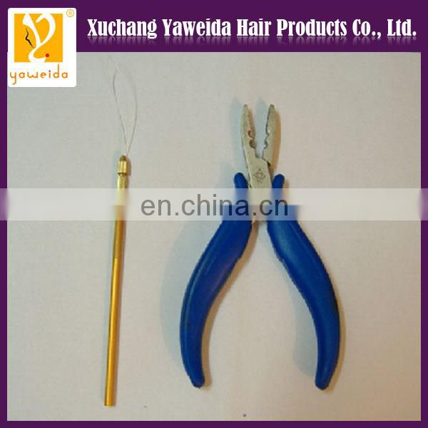 Beautiful 2014 Best Selling pliers and micro rings for hair extension