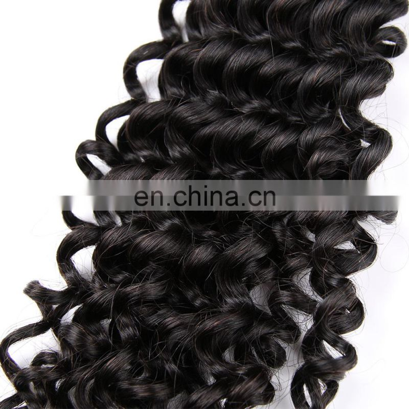 Deep Wave curly Wholesale Brazilian virgin humen hair