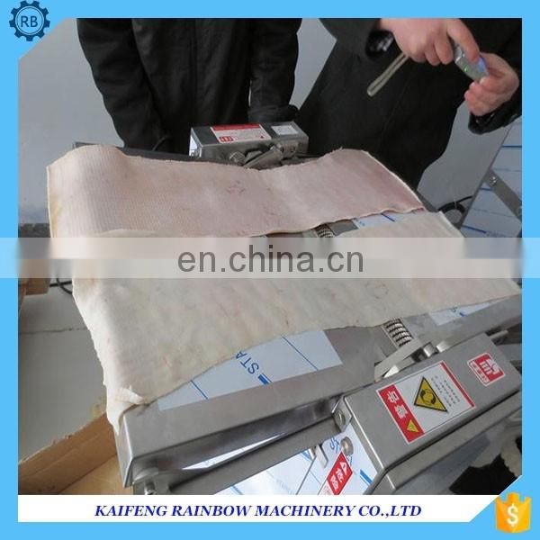 High Efficiency big capacity pork skin peeler machine