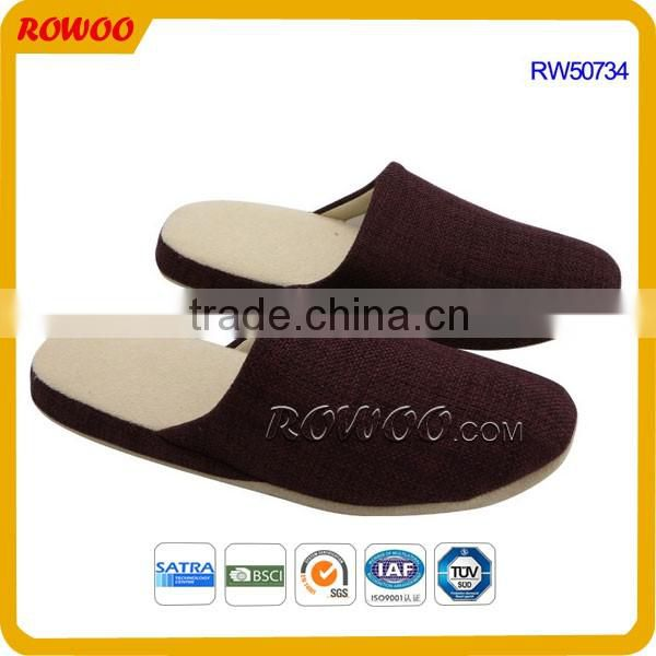 Customized Colors Purple women soft Indoor Slippers