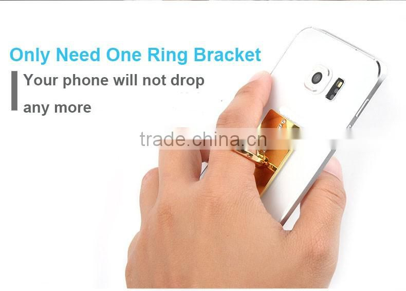 Crystal Rhinestone Ring Holder Bling Diamond Finger Phone Support, Universal Metal Cell Phone Holder Stand Support Car Holder