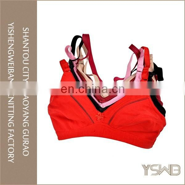 Wholesale plus size comfortable woman underwear china professional bra manufacturer