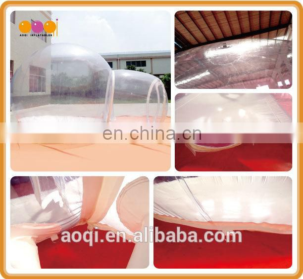 Transparent inflatable bubble tent for show for sale