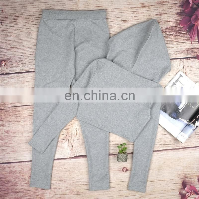 Hot Sexy cotton walking Sports yoga clothes for woman track suits