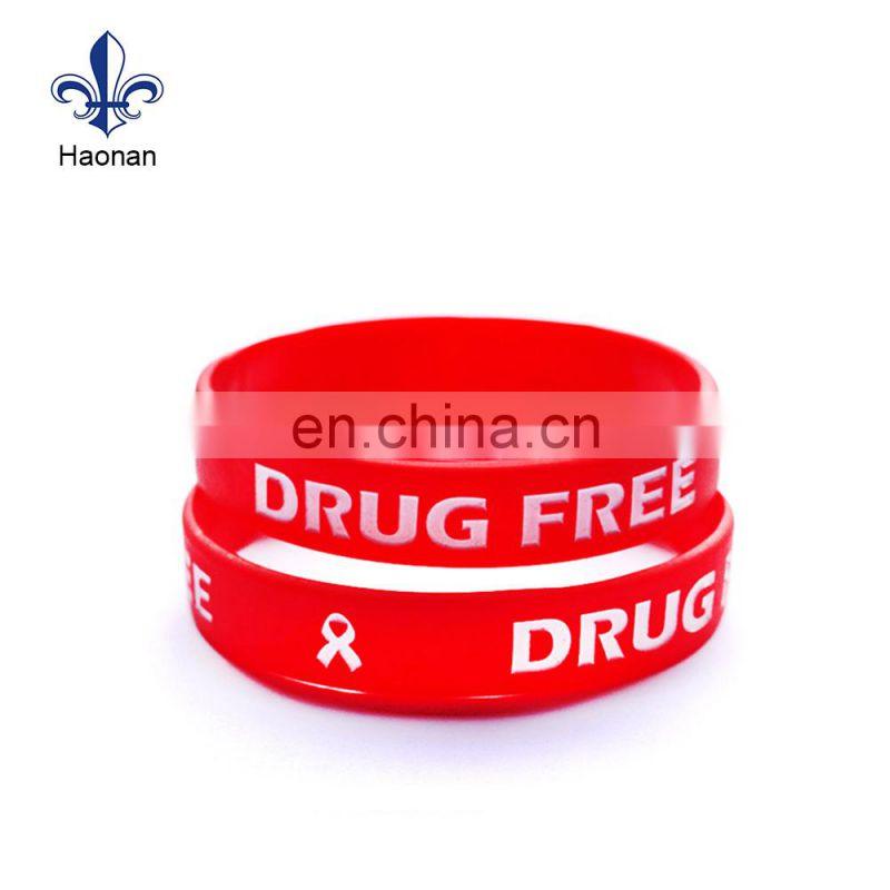 manufacturer design silicone wristband with custom for sport