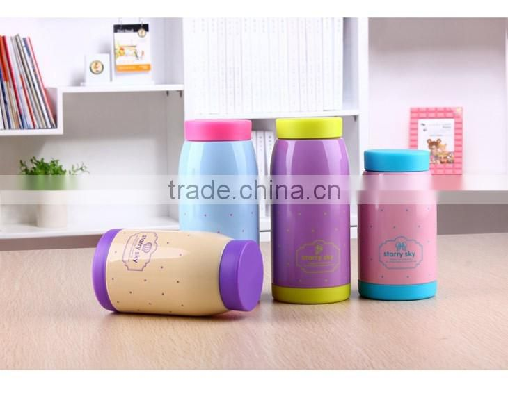 Stainless Steel Cute Cartoon water Bottle