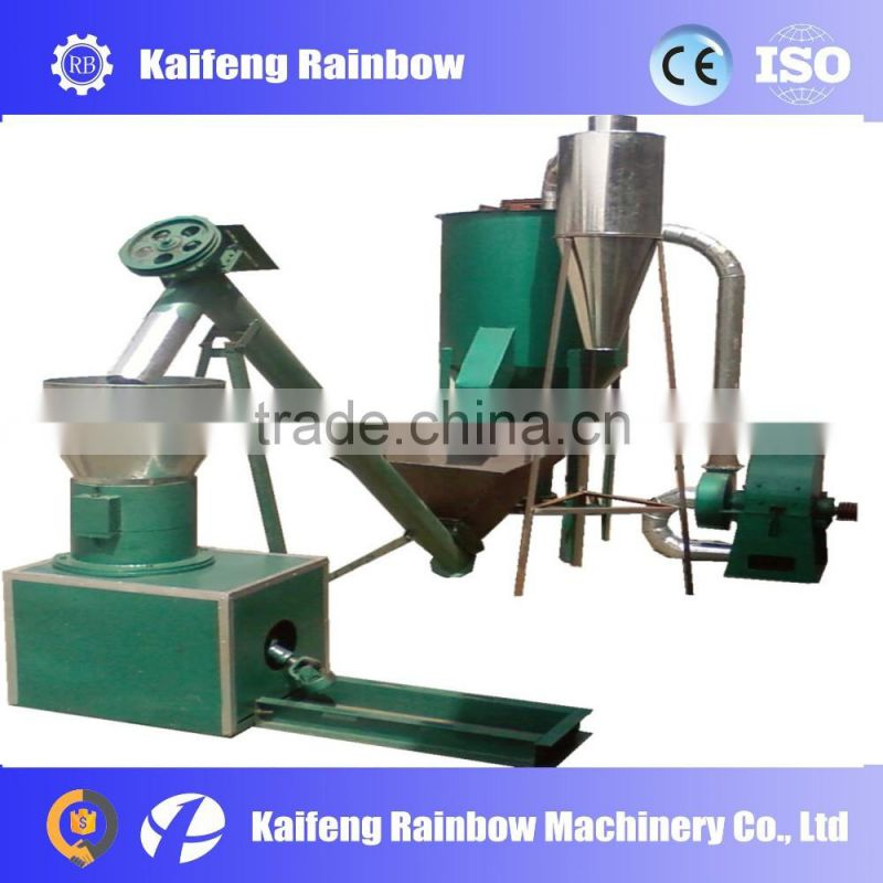 Automatic large capacity feed crusher for animals