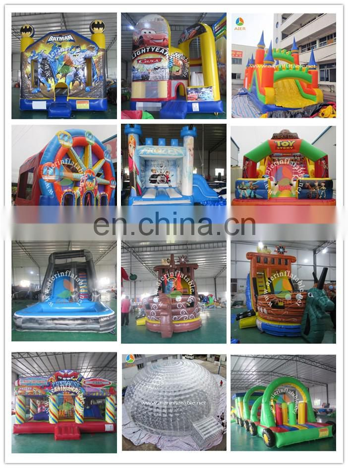 2017 Aier inflatable party castle inflatable castle slide jumping castles inflatable