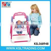 Hot sale plastic baby dolls bed not including dolls