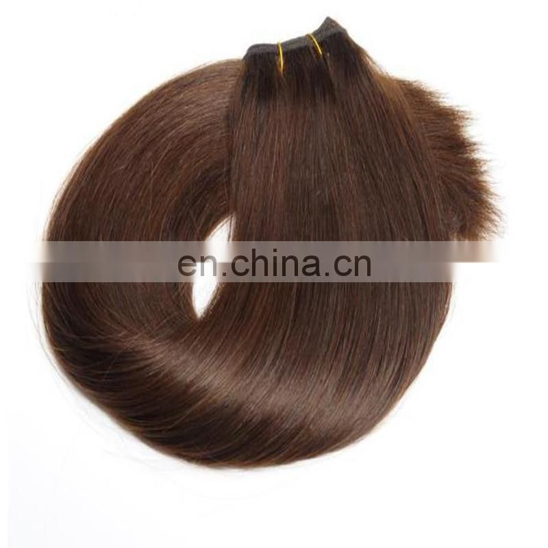 china.cn wholesale human hair weave grade 8a brown color 100% malaysian hair extension