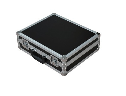 Hard Tool Case Aluminum Case On Wheels Industrial Image