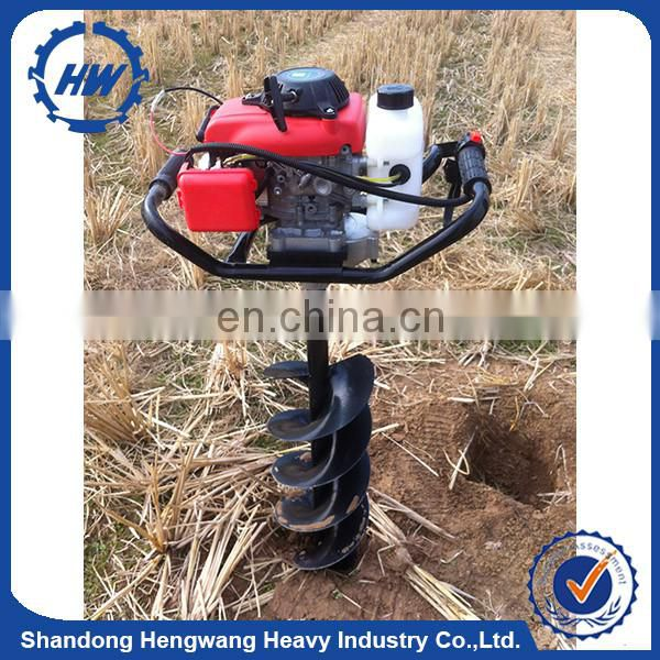 62cc 75cc 85cc auger for earth drilling,gasoline earth auger,earth auger drill bits