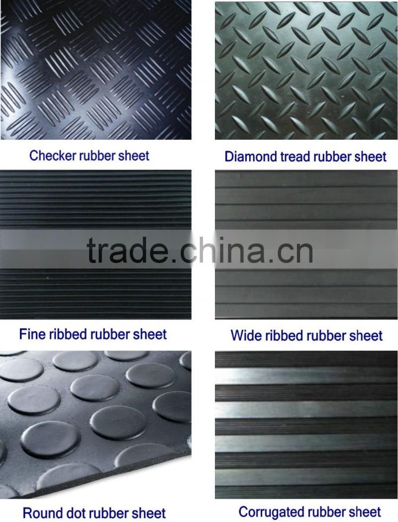 3mm water proof crumb rubber sheet for sale