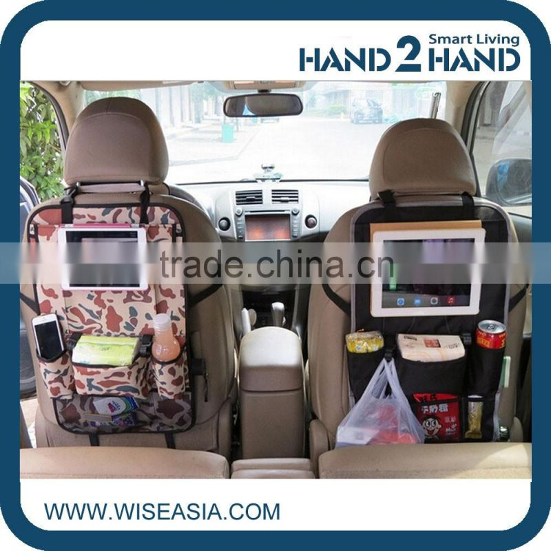 Boy/man/kids Car Back Seat Hanging Storage Bag iPad Tablets Pockets Vehicle Organizer Multiuse Holder Organizer Pockets
