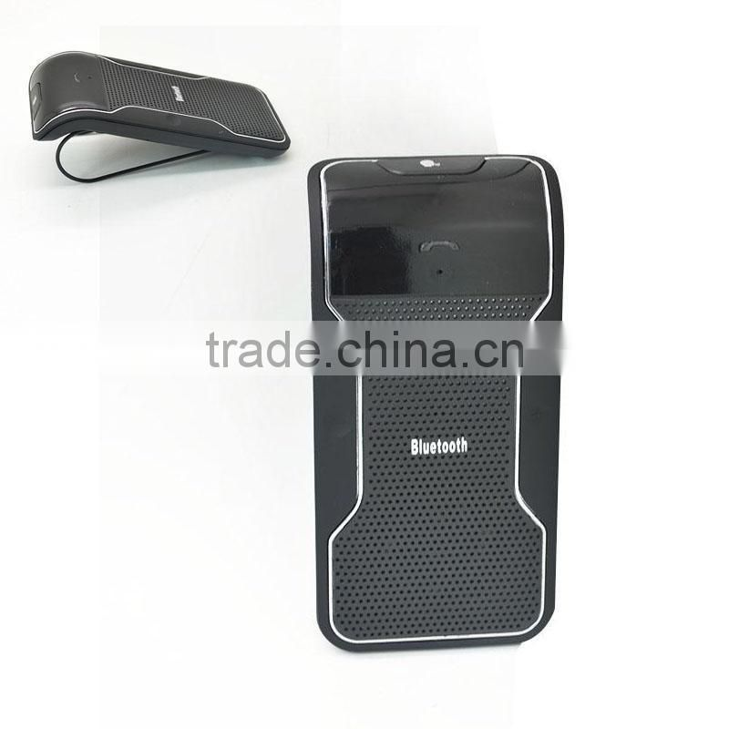 Universal Wireless Bluetooth Handsfree Microphone Driving Safer Car Kit