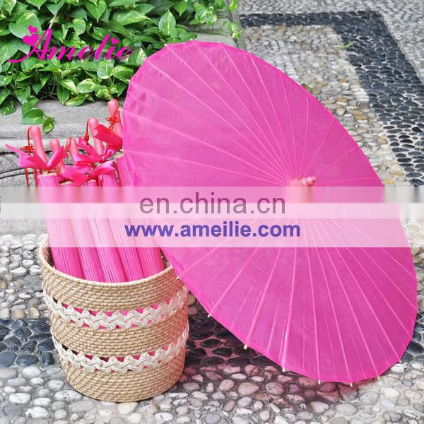 A6270 Fuchsia cheap wedding umbrellas