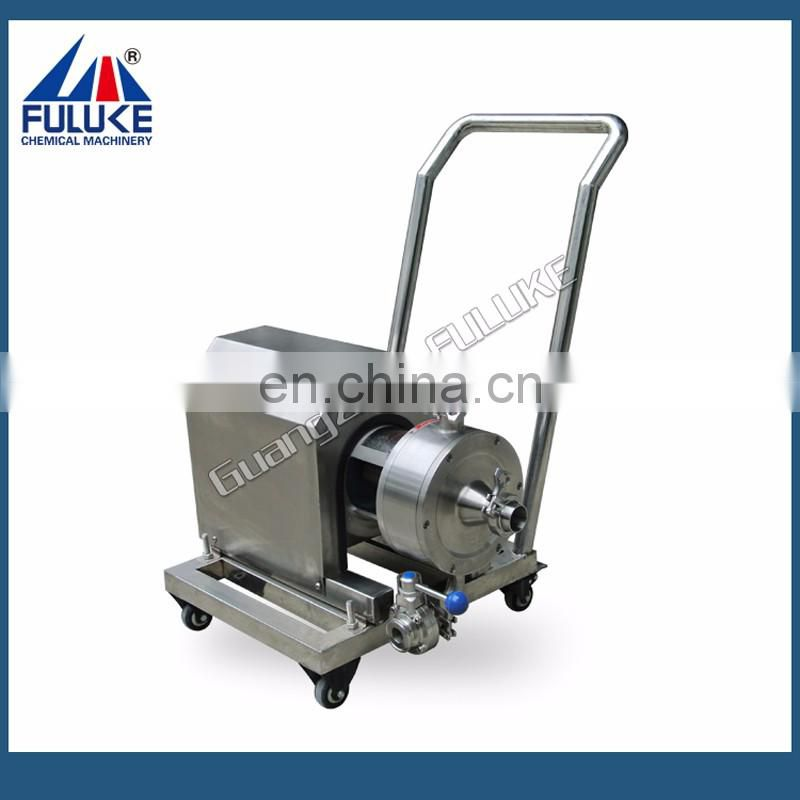 Fuluke Stainless Steel Pneumatic Double Diaphragm Pump