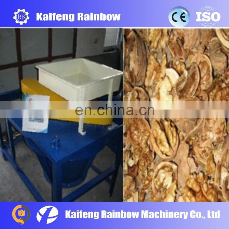 High Quality Best Price Commercial Hard Walnuts Cracking Machine Black Walnut Shelling Machinery