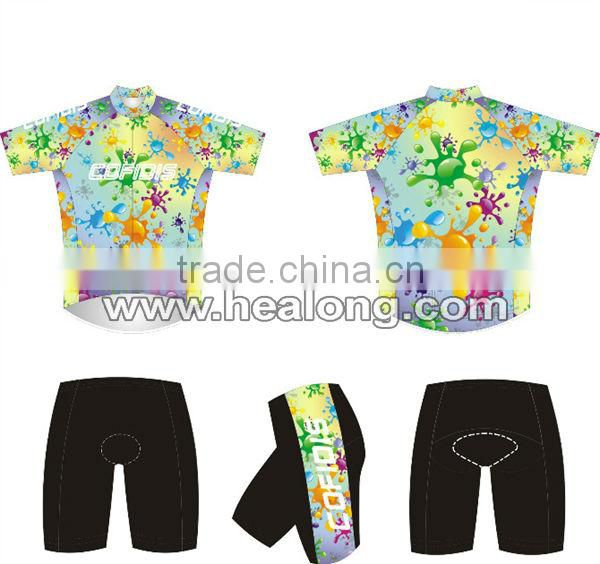 Hot Selling china custom cycling jersey for wholesale