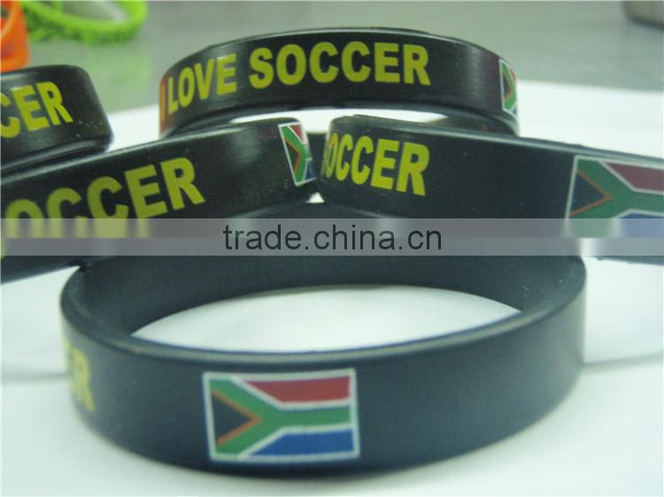 Country flag printing silicone bands