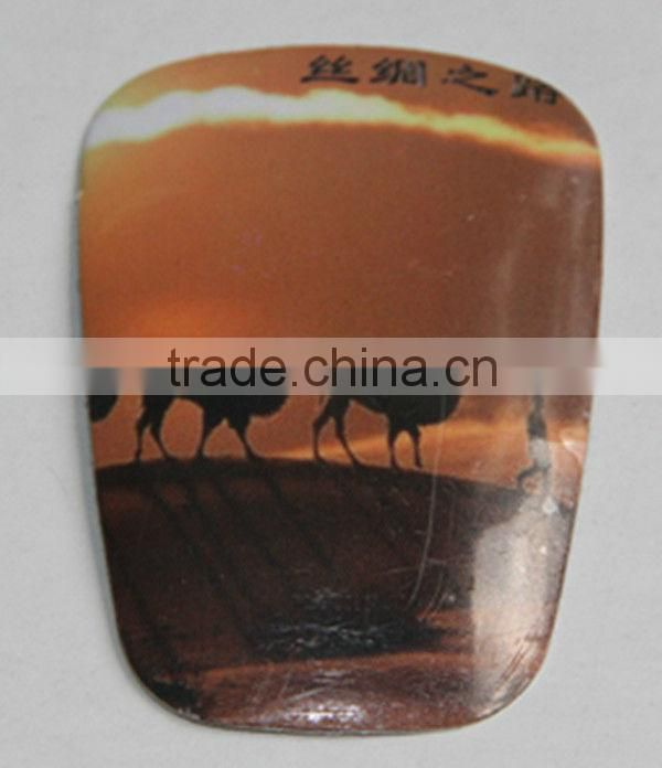 Customized pin printed tag made in china