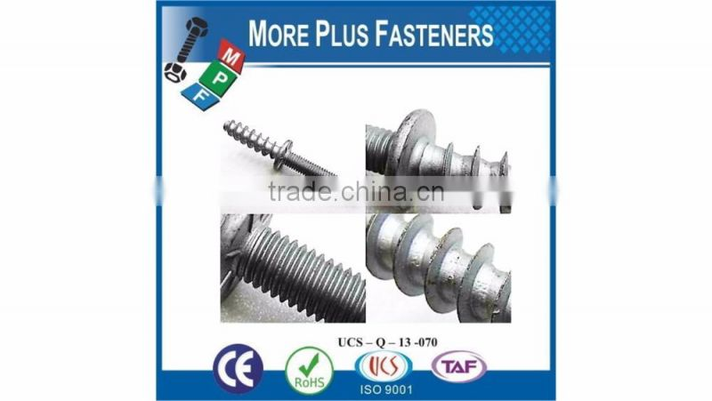 Made in Taiwan Special Double End Stud Screw Double Ended Bolt