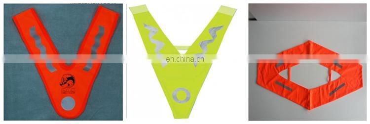2017 china cute kid reflective running vest for children