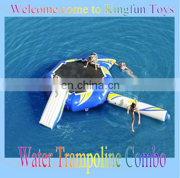 Single tube water aquaseesaw