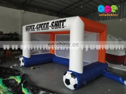 Hot Sale new inflatable football goal for events