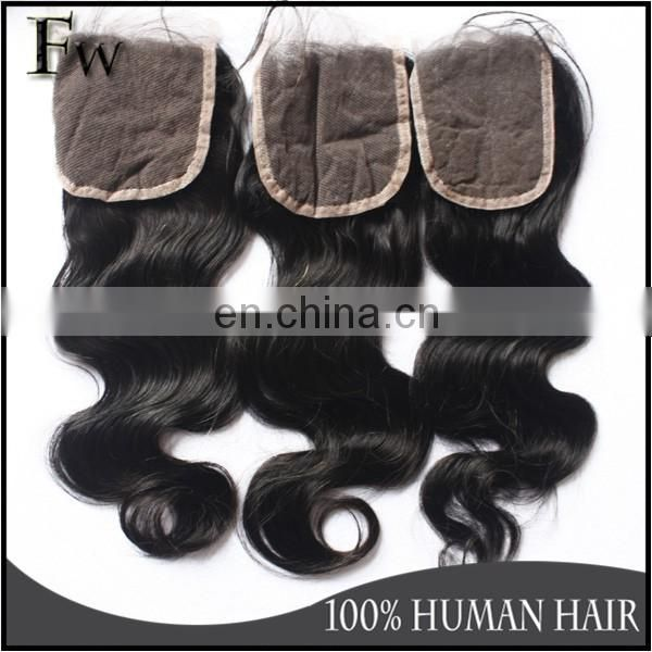 Top quality lace closure and silk base lace closure 4x4 size raw indian hair wholesale virgin hair raw unprocessed