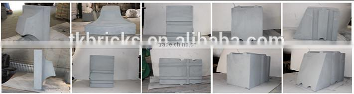 unshaped high alumina low cement refractory castable