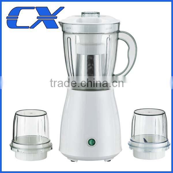 New product and high quality 250W / 1.1L 3 in 1 juicer blender and hand blender