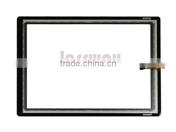 12 inches Zero-bezel resistive touch panel