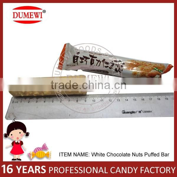 White Chocolate Nuts Biscuit Stick